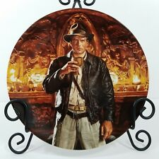 Vintage Indiana Jones Collector Plate Last Crusade 6th in Series Holy Grail 659A