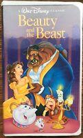 Beauty And The Beast (VHS, 1992) Walt Disney Black Diamond Classic - Animated