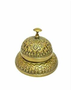 Nautical Finish Beautiful Handmade Calling Bell Table Bell Service Bell