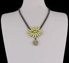 Modeschmuck-Halsketten aus Metall-Legierung floralen Themen