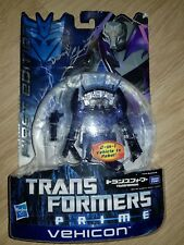 Transformers Prime First Edition Japan Colour Vehicon signed