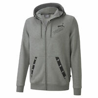PUMA Men's Amplified Full Zip Hoodie