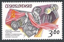 Czech Republic Space Stamps