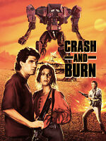 Crash and Burn DVD, Starring Bill Moseley and Megan Ward, Full Moon Features