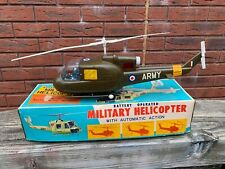 TN Toys Japan US ARMY Military Helicopter In Its Original Box - Excellent Rare