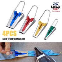 4pcs 4 Sizes Fabric Bias Tape Maker Binding Tool Sewing Quilting 6 12 18mm 25mm