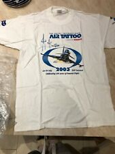 AIR TATTOO Royal International T-shirt RAF Airshow NEW 2003 Medium