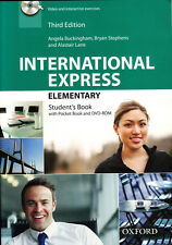 Oxford INTERNATIONAL EXPRESS 3rd Edit Elementary Students Book with DVD-ROM @New