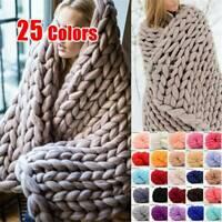 250g Thick Bulky Wool Yarn Soft Chunky Hand Knitting Scarf Hat Blanket Arm Knite