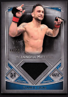 2017 Topps UFC Museum Collection Meaningful Material Relics Frankie Edgar #/75