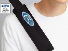 Richbrook Ford Logo Velcro Fissare Nero Imbottito Spalla Cintura Di Sicurezza Harness PADS