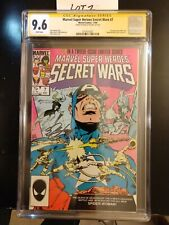 MARVEL SUPER HEROES SECRET WARS 7 CGC 9.6 New Spider-Woman Signed by BOB LAYTON