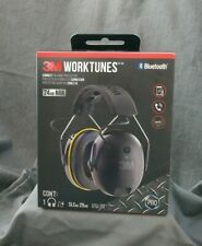 NEW ~ 3M WORKTUNES Connect Hearing Protector w/ Bluetooth & Hi-Fi Sound 24db NRR