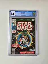 Star Wars #1 1977 Original FIRST PRINT comic- WHITE PAGES JUST ARRIVED CGC 9.6