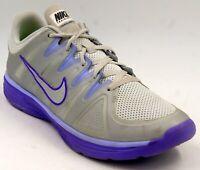Nike Allways Tr Running Sneakers Purple Gray Women's Running Shoes Sz 12 M