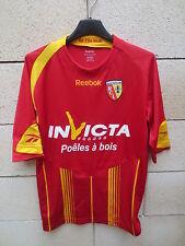 Maillot R.C LENS REEBOK shirt 2010 football collection jersey shirt trikot S