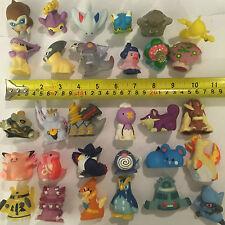 30 X figuras de plástico hueco de Pokemon Nintendo Bandai (25 de 2006/2008, 5x 1997)