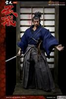 WOLFKING 1/6 Miyamoto Musashi 2.0 Action Figure Samurai Collection Doll In Box