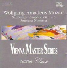 Mozart - Salzburger Symphonien 1-3 CD Vienna Masters Series (Pilz, 1991)