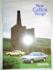 Toyota Celica Gama Folleto de febrero de 1980