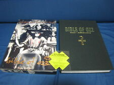 Ozzy Osbourne Bible of Ozz Japan CD Box w Book Patch Backle Black Sabbath
