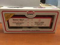 MODEL POWER HO SCALE TRAIN MINT IN BOX JERSEY GOLD PURE BUTTER