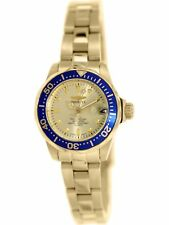 Invicta Women's Pro Diver 14126 Gold Stainless-Steel Quartz Dress Watch