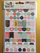 Simple Stories RESET GIRL Planner Basic Stickers - Carpe Diem Filofax