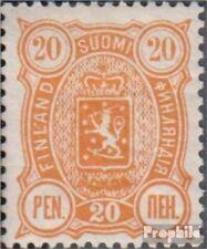 Finland Mi.-Aantal.: 30B met Fold 1889 Crest