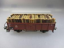 Roco:Güterwagen mit Holzladung (Stiege25)