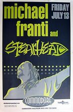 MICHAEL FRANTI & SPEARHEAD 2001 VANCOUVER CONCERT TOUR POSTER - Roots,Rock Music