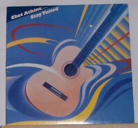 CHET ATKINS - STAY TUNED - Original 1985 LP Record Album - Columbia 39591