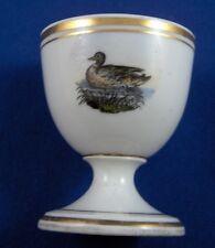 Antique Nymphenburg Porcelain Egg Cup Duck Scene Porzellan Eierbecher Scenic