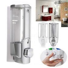 Wall Mounted Bathroom Soap Dispenser Shower Gel Liquid Pump Hand Wash 350ml NEW