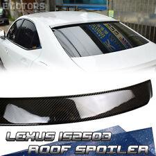 2016 Carbon LEXUS IS200t IS350 Sedan D Type Window Roof Spoiler 2016+