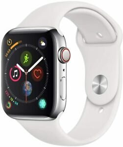 Apple Watch Series 5 - Stainless Steel - Silver - Space Black - GPS + Cellular
