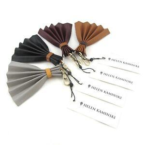 Helen Kaminski Talisman Bag Tassel Black Grey Tan Burgundy NWT