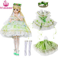 2019 UCanaan 1/3 BJD Clothes Doll Dress For 60CM Ball Jointed Doll Accessories @