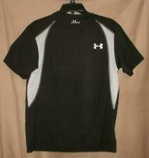 Under Armour Black Polyester Tee Shirt Youth XL EUC