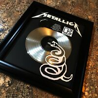 Metallica ( METALLICA ) The Black Album Million Record Sales Music Award Vinyl