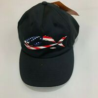 Field & Stream Men's Silicone Fish Icon Stretch Fit Hat M/L medium large New
