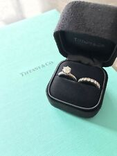 Tiffany & co Platinum And Diamond Band Ring