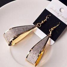 Dangle Water Silver/Gold Women Jewelry Drop Shape Hook Fashion Gift Earrings