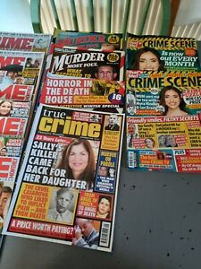 11 x Crime Monthly Magazine Collection in good condition