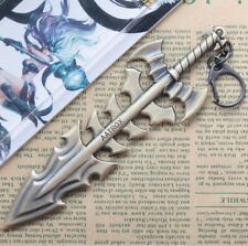 "DZ721 Hot Sale 6.3"" League of Legends LOL Blade Aatrox Keychain Keyring Pendant^"