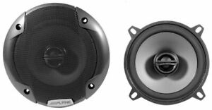 "Alpine SPE-5000 5.25"" 400 Watt 2-Way Pair of Car Audio Speakers Type-E"