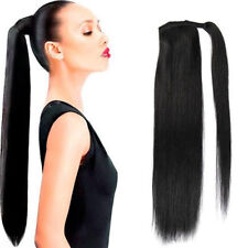 Real Remy Natural Human Made Clip In Hair Extension Ponytail Wrap 60gr 70gr 80g