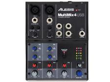 ALESIS - MULTIMIX4 USB, Mixer 4 canali