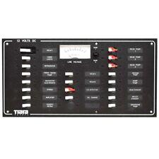 Tiara Yachts Boat Breaker Panel 5458405 | 12 Volt 14 3/4 x 7 1/2 Inch