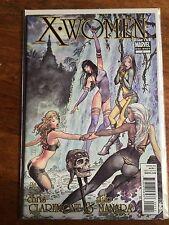 X-Women 1 NM HTF Milo Manara Chris Claremont Joe Quesada 1st Print X-Men